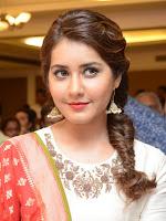 Rashi Khanna glamorous at Santhosam awards pm-cover-photo