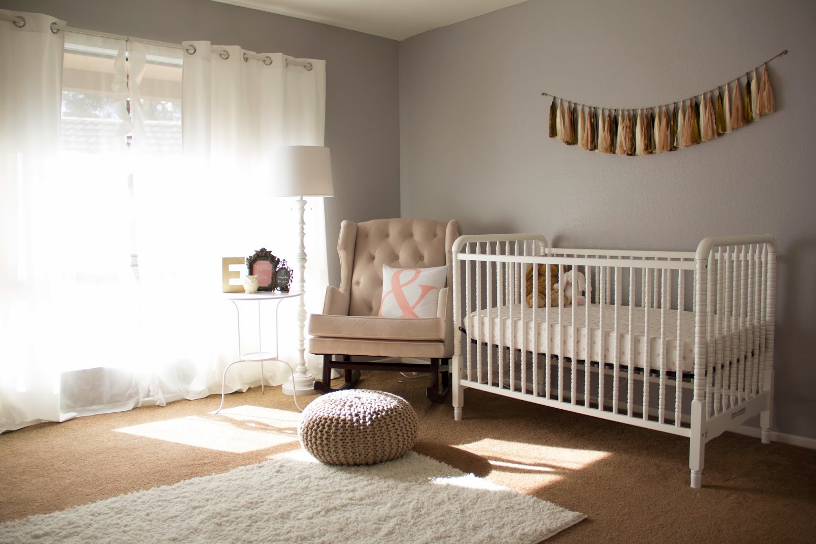 fawn over baby baby girl nursery design by monika from. Black Bedroom Furniture Sets. Home Design Ideas