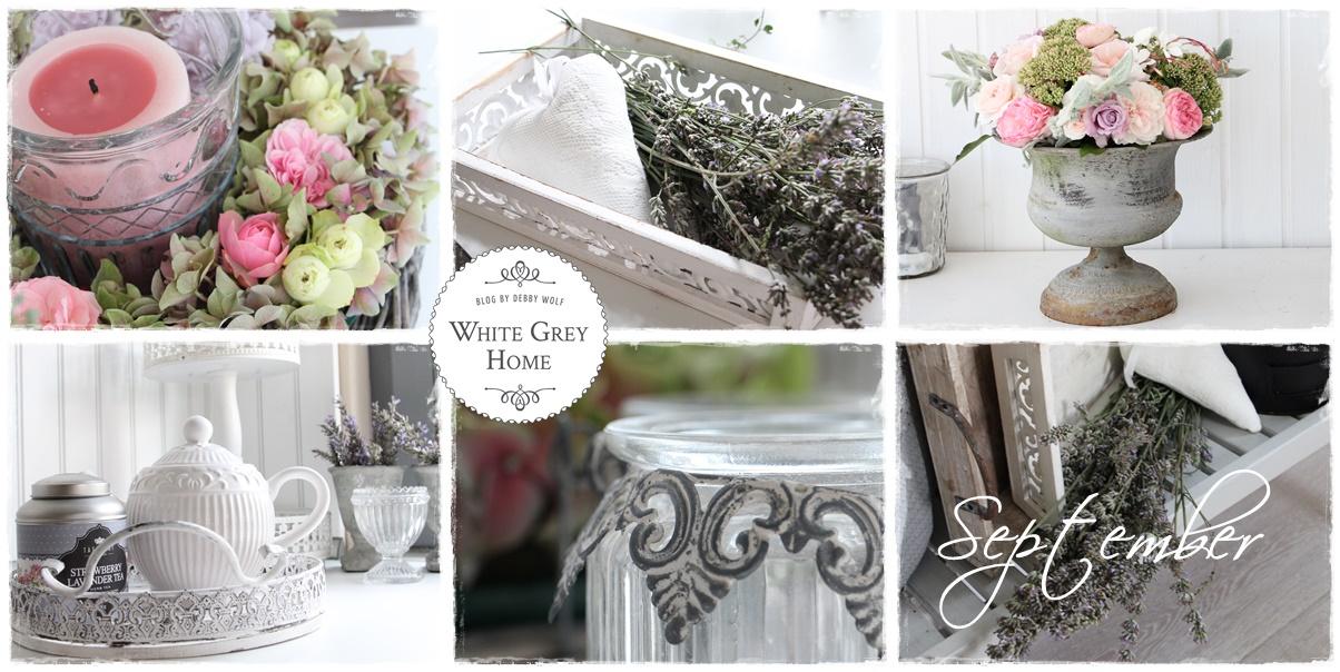 white grey home