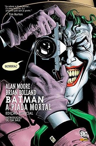 livro Batman. A Piada Mortal