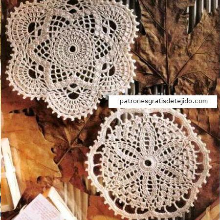 Patrones de carpetas crochet