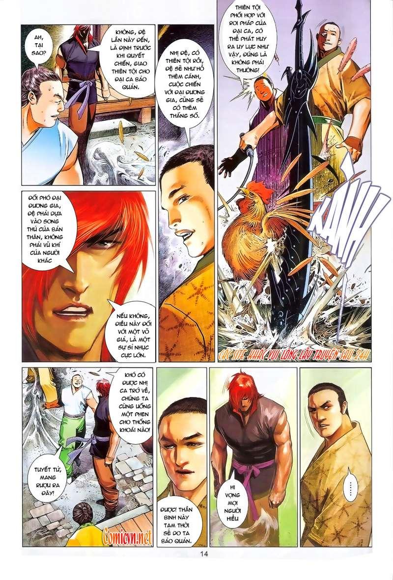 Phong Vân chap 634 Trang 13 - Mangak.info