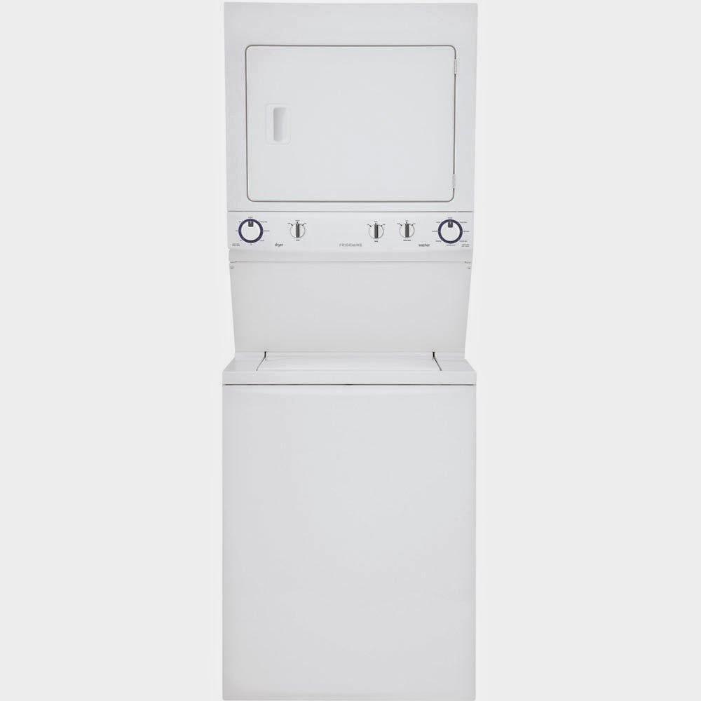 frigidaire stackable washer dryer