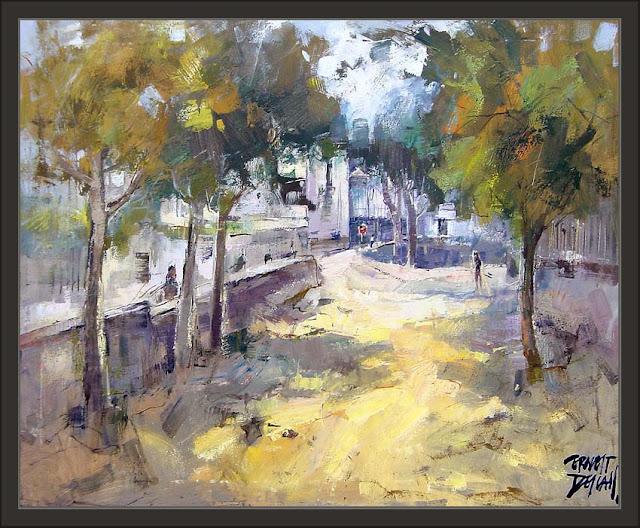 Ernest descals la historia del pintor vilassar de mar - Trabajo de pintor en barcelona ...