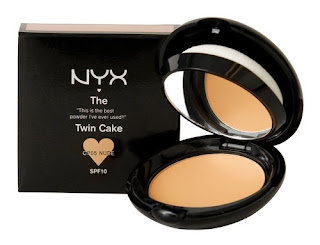 nyx twin cake powder