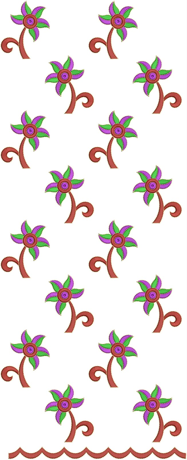 Latest Churidar Suits Embroidery Designs  Embdesigntube