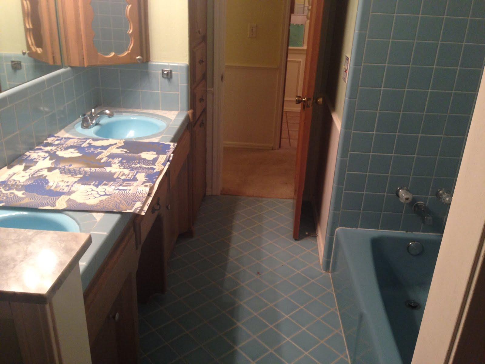 Funky Bathroom House Of Ivy Baby Blue Bath