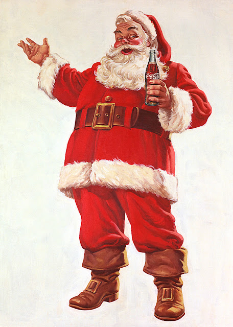 Coca Cola Christmas art