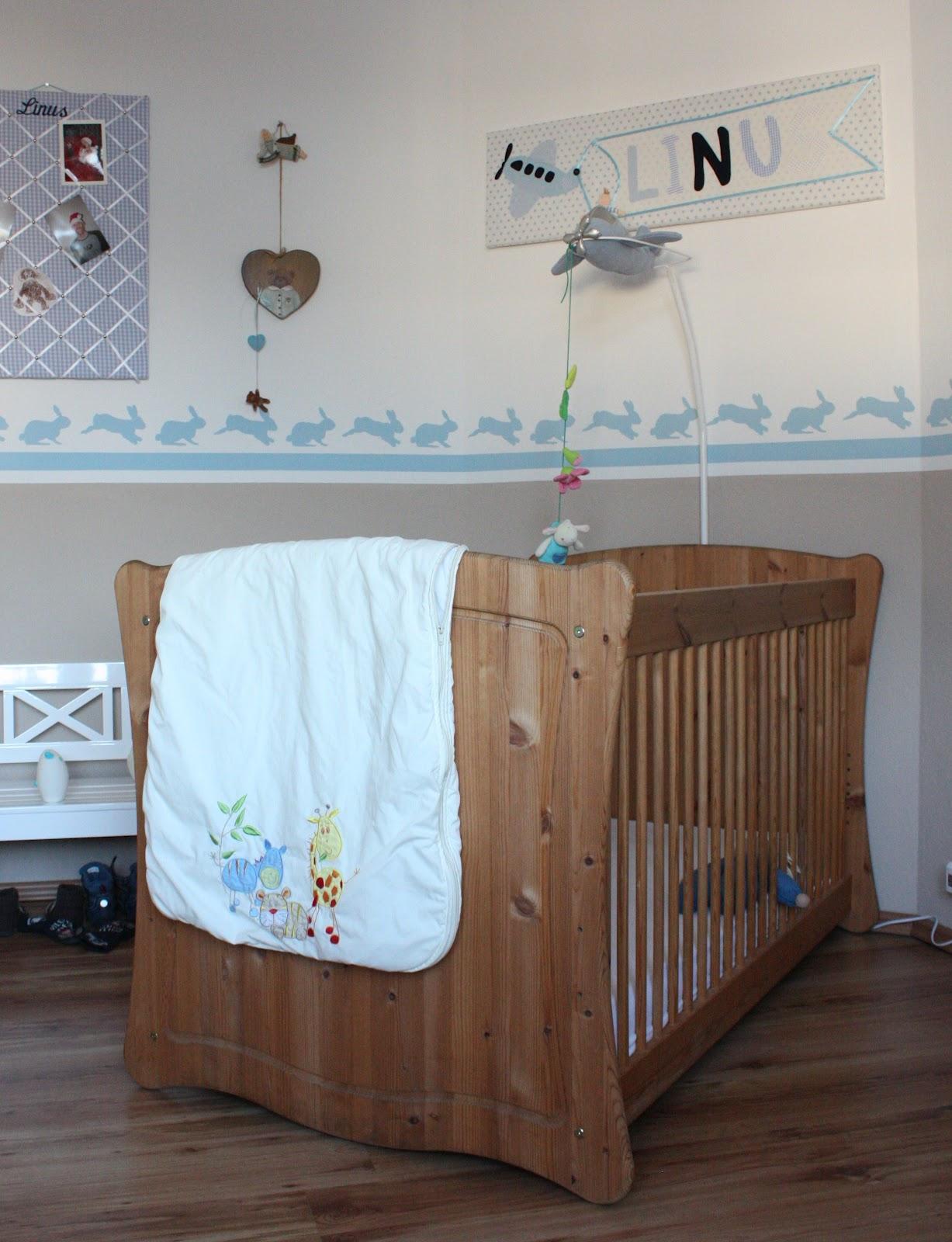 Simply Sweet Things: Beklebte Leinwand als Kinderzimmer-Deko