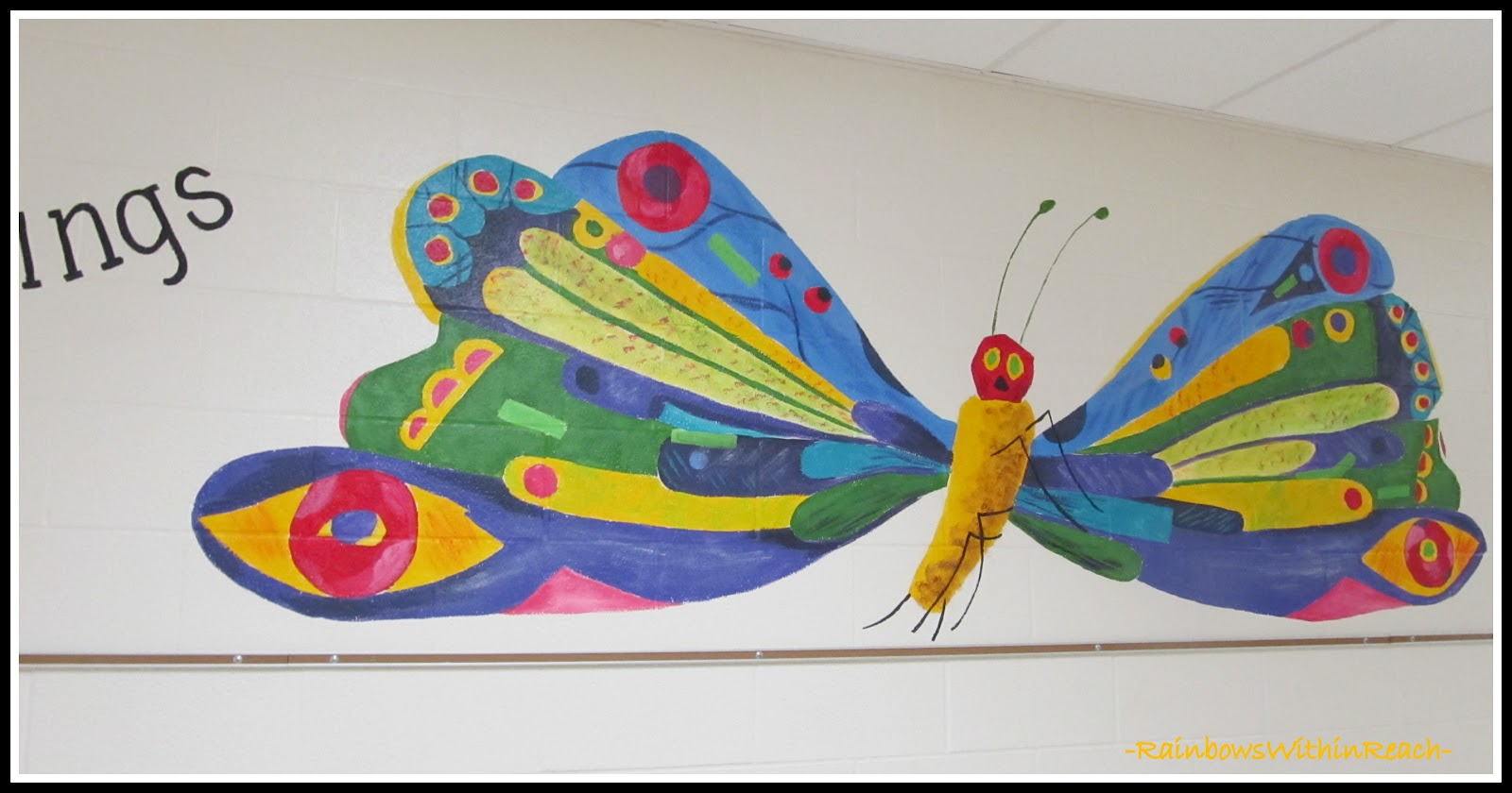 Painted murals in schools and libraries drseussprojects for Eric carle mural