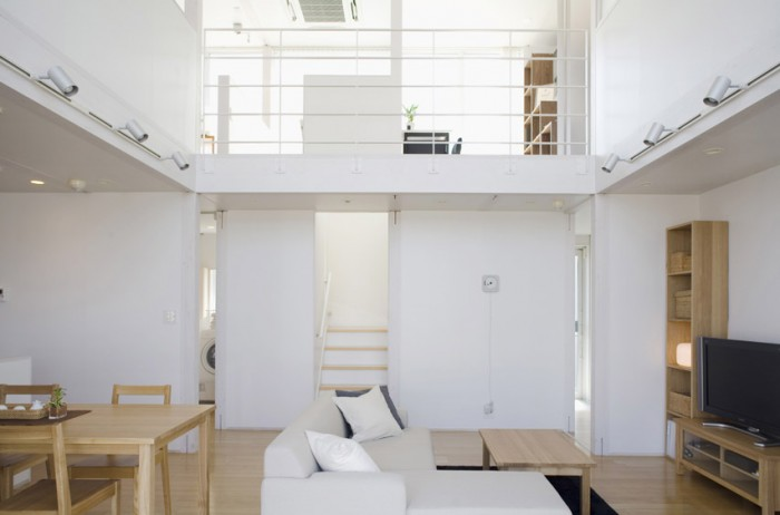 Minimalist japanese prefab house house architecture for Japanese minimalist house interior