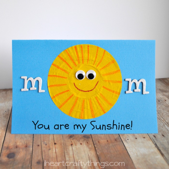 I Heart Crafty Things You Are My Sunshine Mother 39 S Day