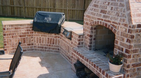 Brick Driveway Image Brick Barbecue Pictures