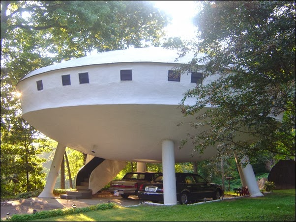 The Flying Saucer House - Chattanooga, Tennessee, USA