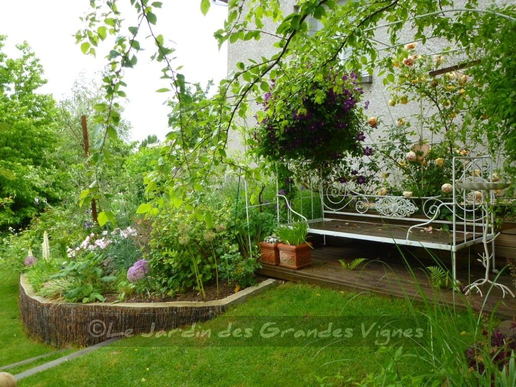 Le jardin des grandes vignes visite au jardin - Le jardin des grandes vignes ...