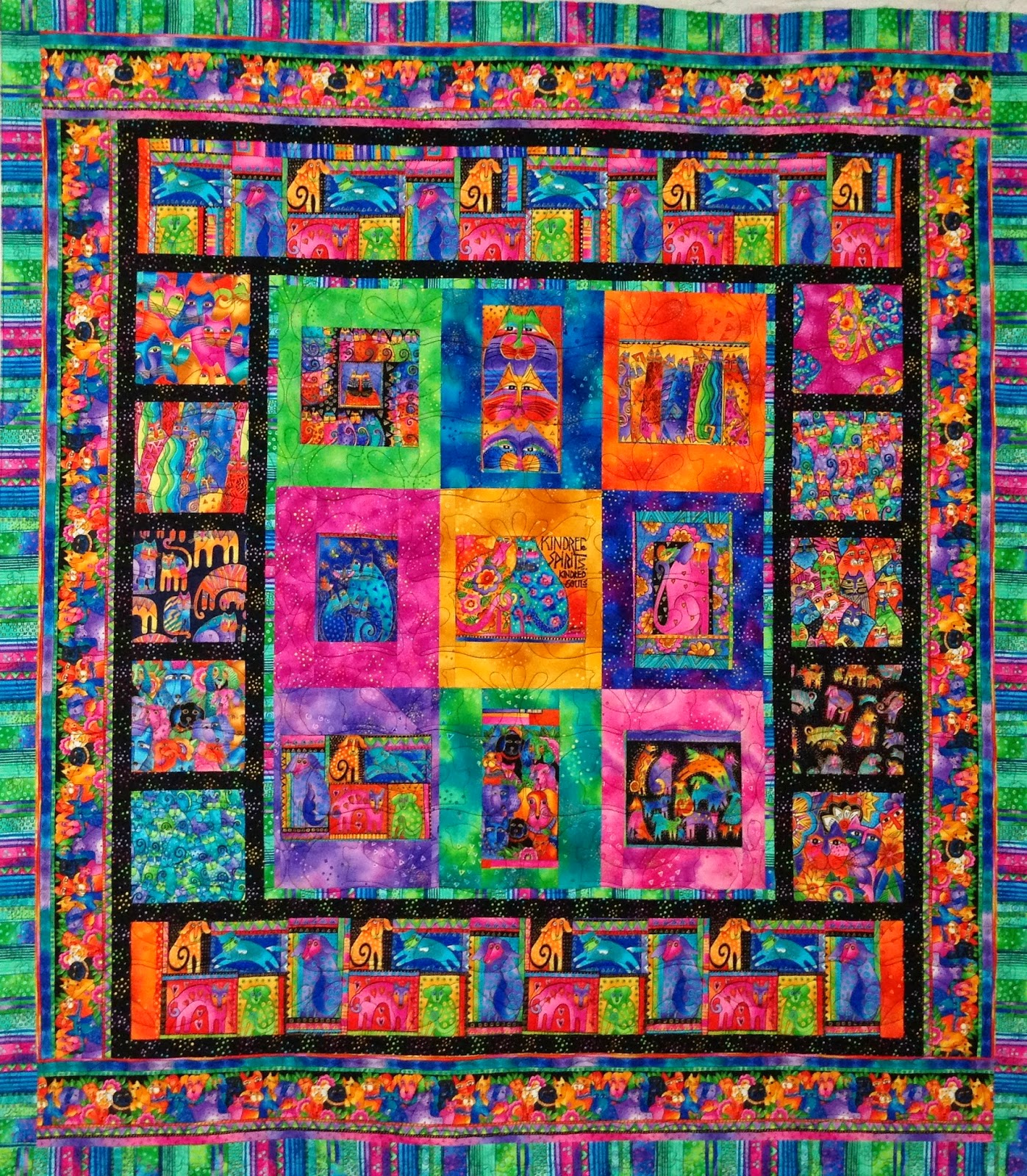 Lynne Capps Felines and Canines Quilt