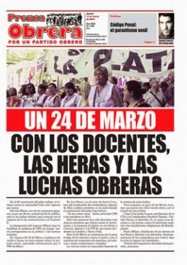 Prensa Obrera Nº 1305