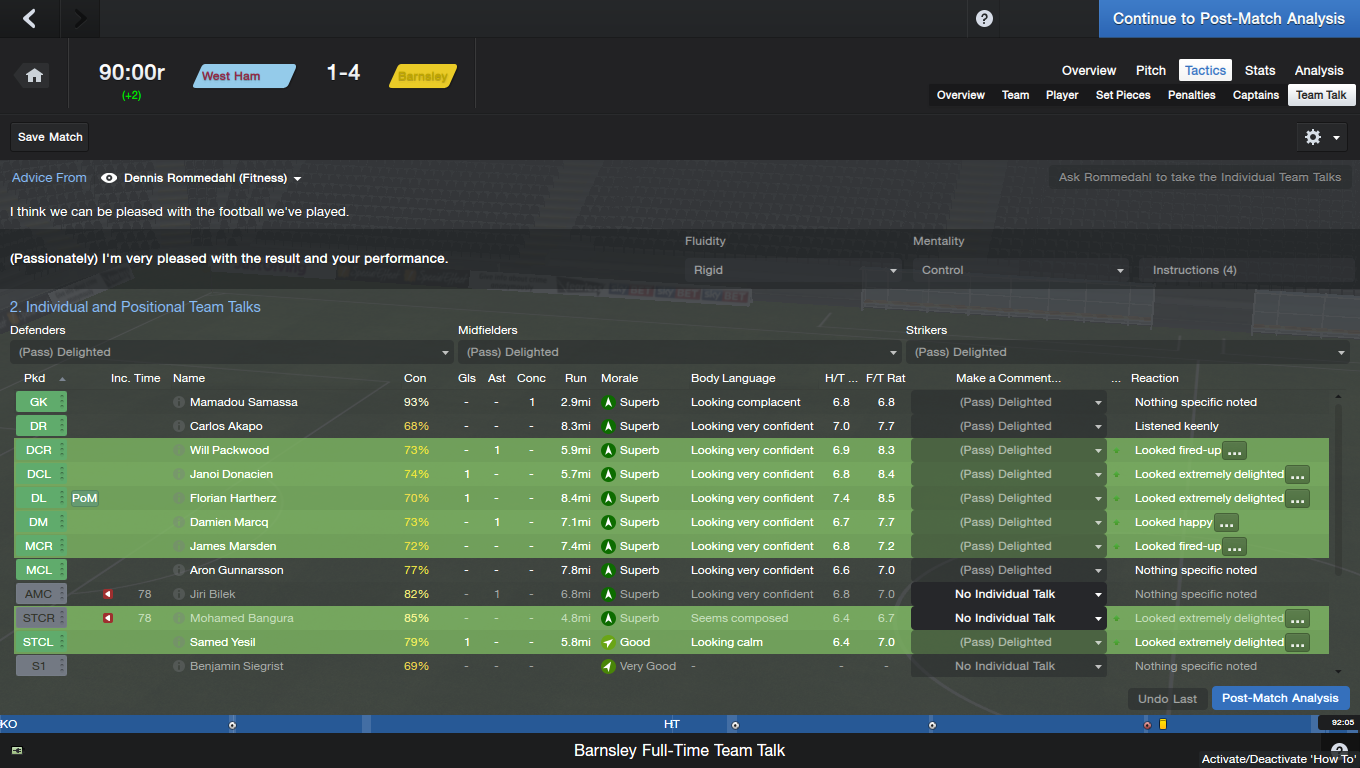 football manager 2014 gameplay