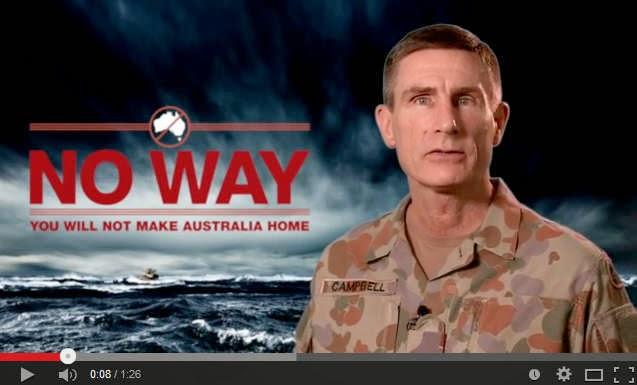 Officiell Australisk information till möjliga asylsökare