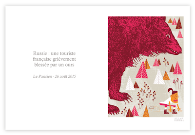 Alex Formika illustration des faits divers du Parisien