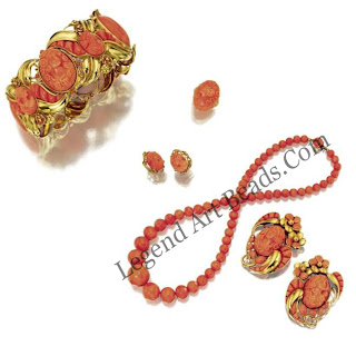 Coral Beads Jewelry