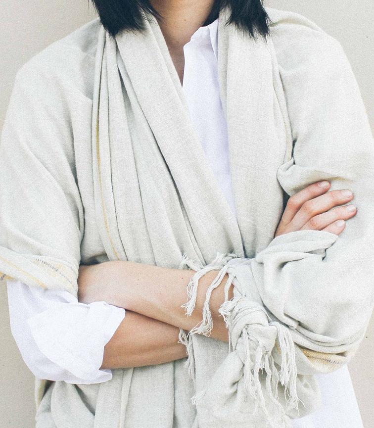 Janice Alida for zara the edit  oversized scarf
