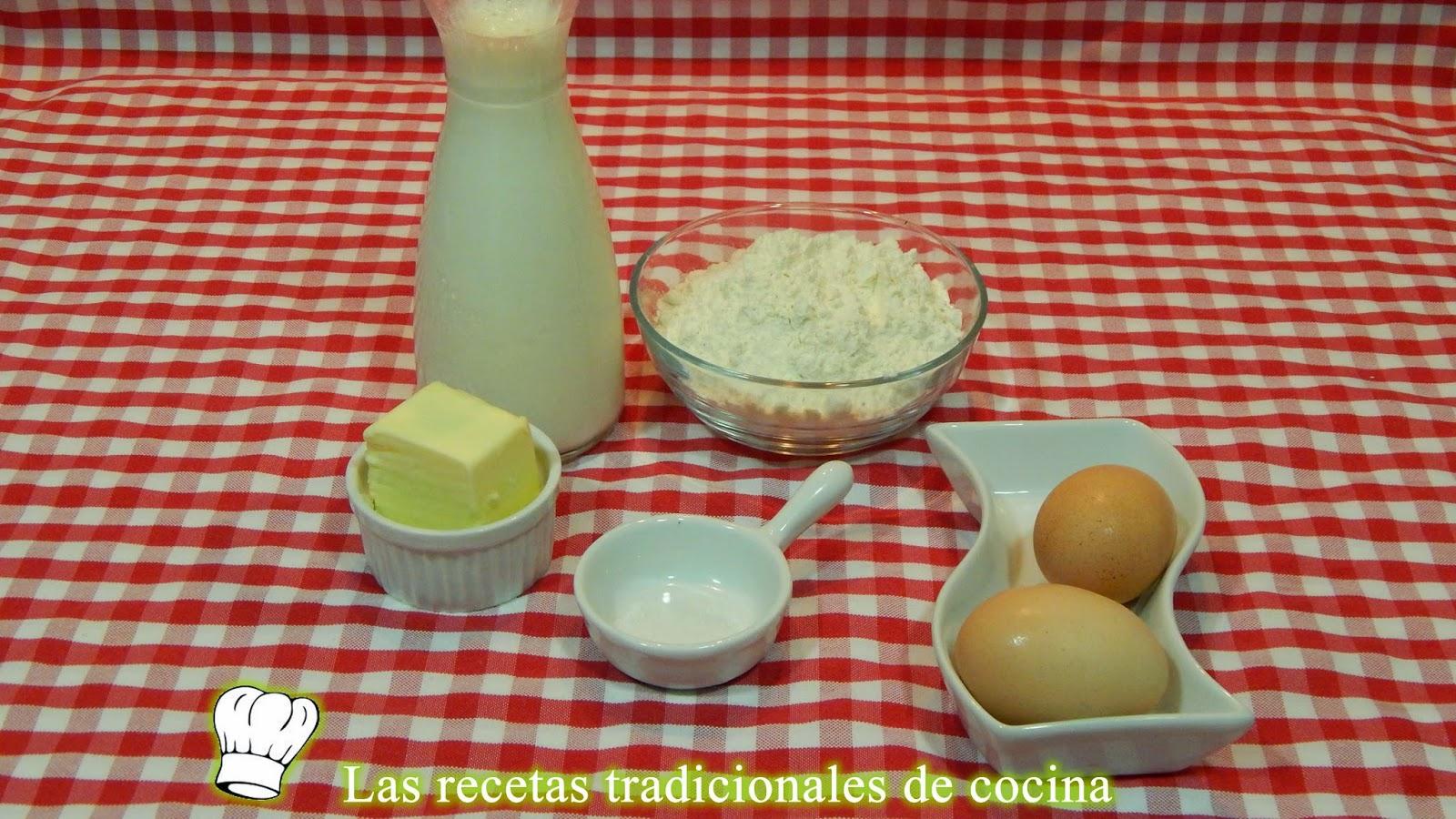receta de los crepes