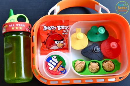 Angry Birds yubo bento prep