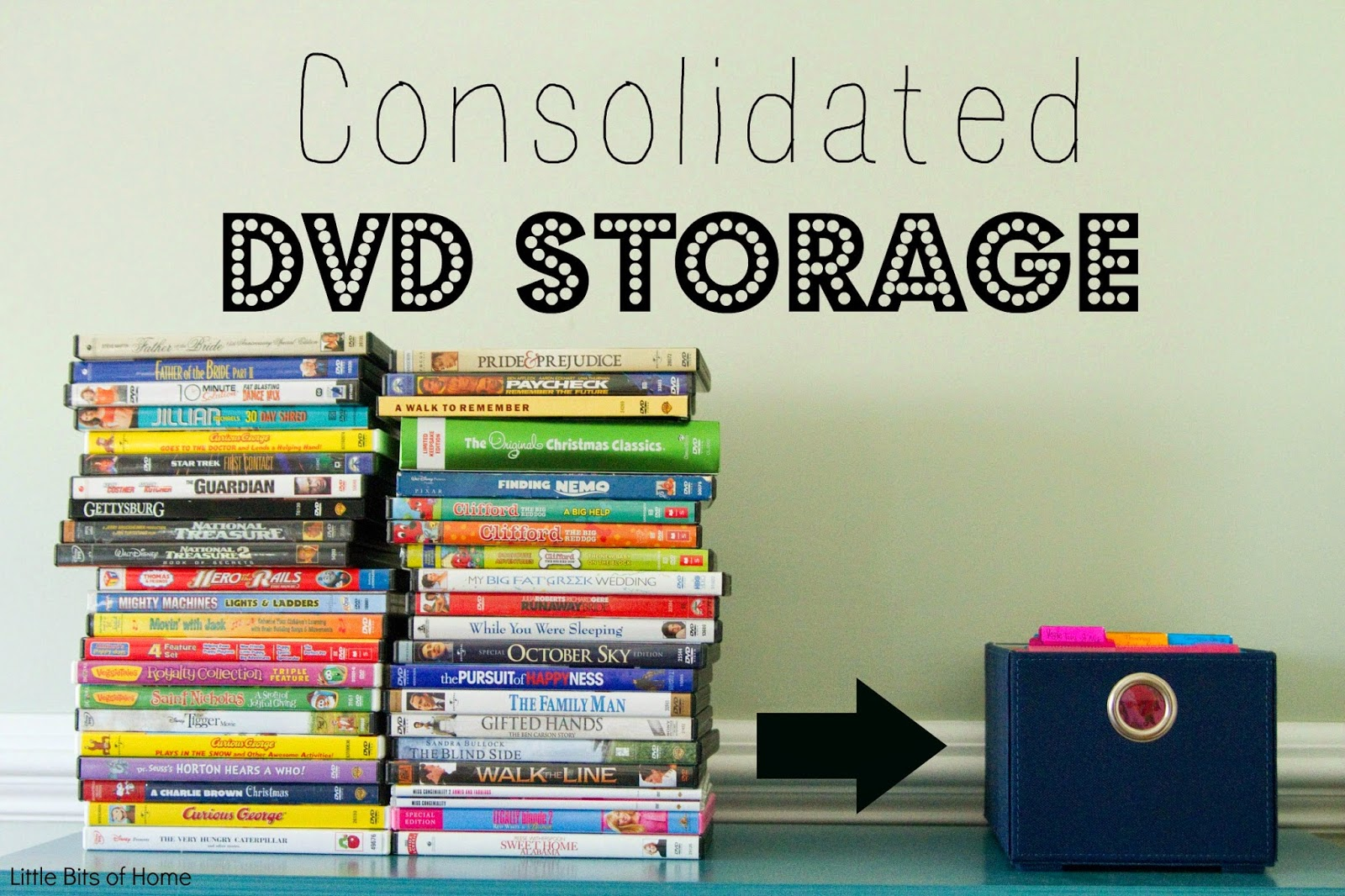 Consolidated DVD Storage