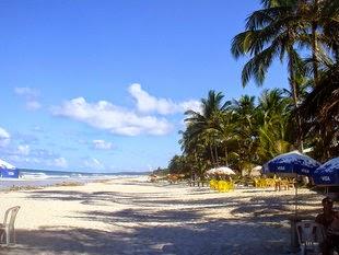 Praia dos Milionários fica no sul de Ilhéus (Foto: Divulgação)
