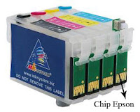 Chip cartridge epson