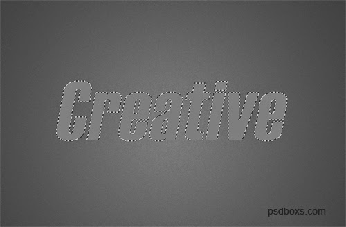 Create a Simple And Creative Text Effect In Photoshop