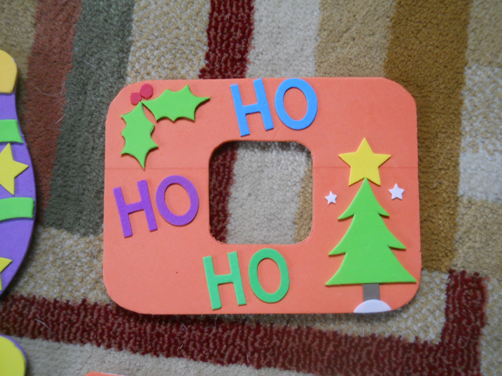 Japan: Home Sweet Home: Foam Christmas Picture Frames
