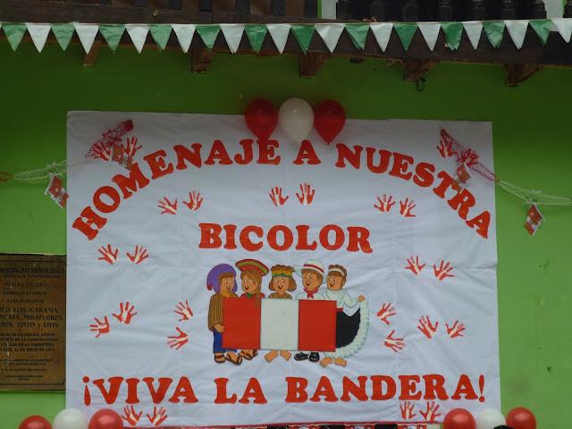 Día de la Bandera Peruana en Alis ~ BIENVENIDOS A LA PARROQUIA