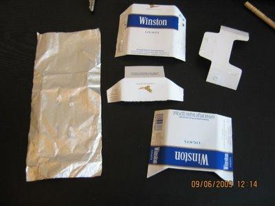 Cara Membuat Pesawat Tempur dari Bungkus Rokok