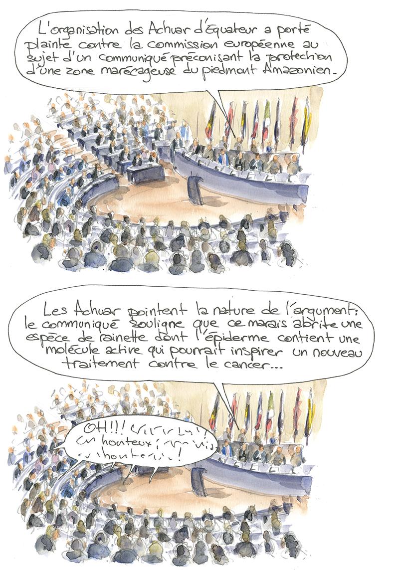 Achuar, commission européenne, Jivaros