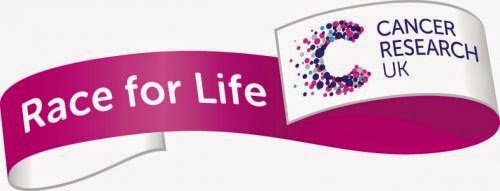 Race for Life Cancer Research UK banner