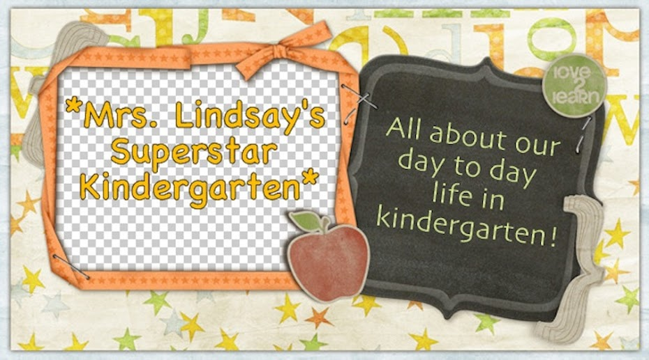 Mrs. Lindsay's Superstar Kindergarten