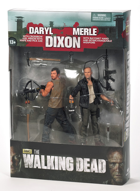 McFarlane Toys The Walking Dead (TV Series) Dixon Brothers 2-Pack Set