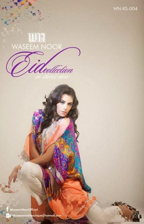 Waseem Noor Eid Collection 2014-15