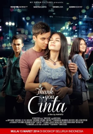 download film indonesia thank you cinta 2014