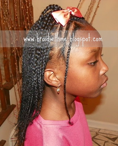 Big Box Braids For Kids Images & Pictures - Becuo