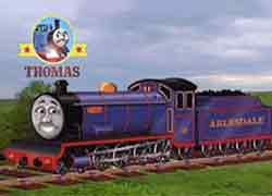 Thomas the tank engine and friends character Bert train Ravenglass and Eskdale Railway locomotive