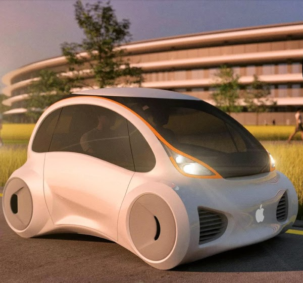 apple driverless electric car