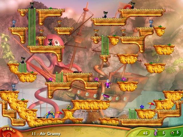 Free Download Super Granny Full Version 7 In 1 PC Game