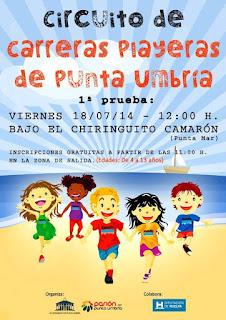II Circuito de Carreras Playeras de Punta Umbría