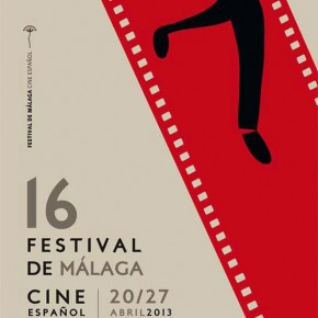 Imagen oficial del cartel del Festival de Cine de Málaga