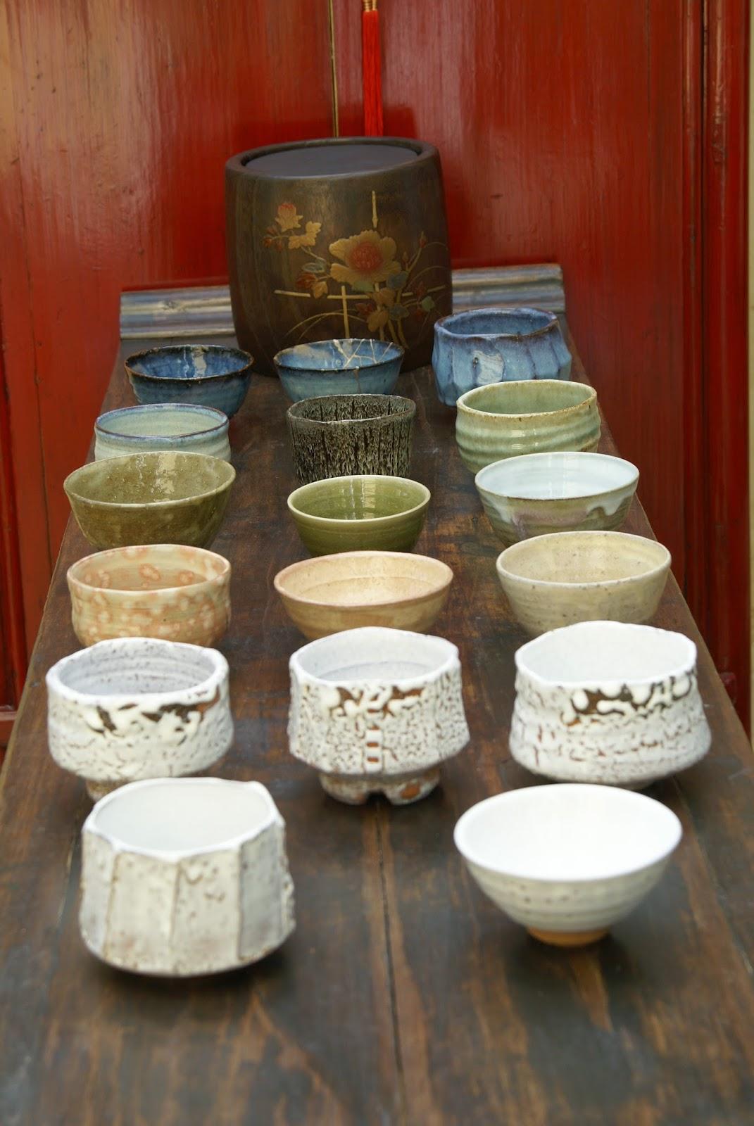 céramique et thé