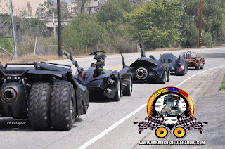 Batman Vehicle batimovil generaciones de autos cosplay