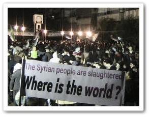 Protes rakyat seluruh dunia tentang peperangan di Syria